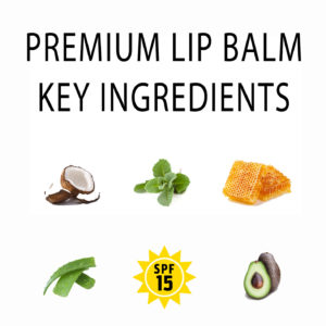 Iowa Hawkeyes Lip Balm 6-Pack | Premium Ingredients